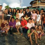 Lorma Highlights Acquaintance Party - Yes we do the Beach thingy