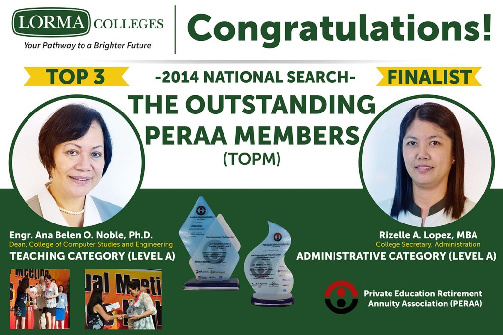 Outstanding PERAA members