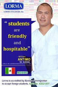 William Antimo BS Nursing