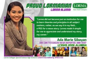 Ada Marie Sibayan LCSSHS 2006
