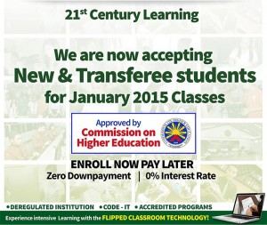 Enrollment for January 2015 classes is now Ongoing! @ Lorma Colleges | San Fernando City | Ilocos Region | Philippines
