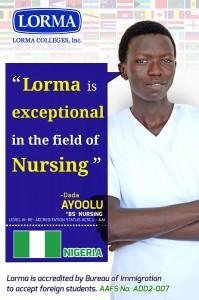 Dada Ayoolu BS Nursing
