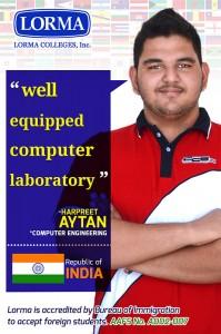 Harpreet Aytan BS Computer Engineering