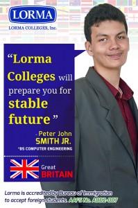 Peter John Smith Jr. BS Computer Engineering